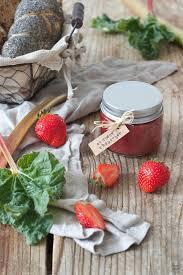 erdbeer rhabarber marmelade rezept lifestyle