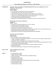 Download Health Club Attendant Resume Sample As Image File