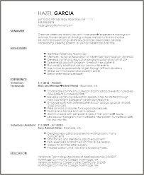 Veterinary Resume Samples Veterinary Assistant Resume Examples