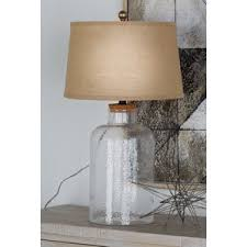 Fillable Lamp Base Ideas by Fillable Clear Glass Lamp Wayfair