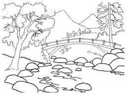 Medium Size Of Coloring Pagesnature Page Charming Nature Pages 4
