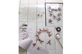 Design DIY Floating Pressed Botanicals