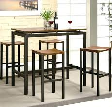 Bar Stool Dining Room Set Breakfast Table Medium Size Of And