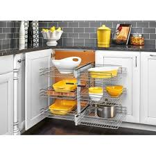 Blind Corner Base Cabinet Organizer by 74 Best Kitchen Corners And Blind Corners Images On Pinterest