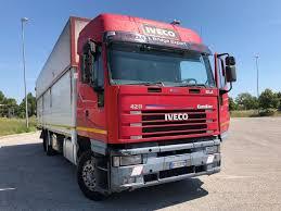 IVECO EUROSTAR 240-42 Cassone Lungo 9,60 Closed Box Trucks For Sale ...