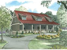 Lake House Plan Front Of Home