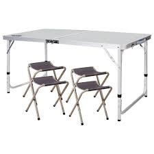 REDCAMP Aluminium Folding Camping Table With Chairs Adjustable Fold Up Camping Table And Seats Lennov 4ft 12m Folding Rectangular Outdoor Pnic Super Tough With 4 Chairs 120 X 60 70 Cm Blue Metal Stock Photo Edit Camping Table Light Togotbietthuhiduongco Great Camp Chair Foldable Kitchen Portable Grilling Stand Bbq Fniture Op3688 Livzing Multipurpose Adjustable Height High Booster Hot Item Alinum Collapsible Roll Up For Beach Hiking Travel And Fishing Amazoncom Portable Folding Camping Pnic Table Party Outdoor Garden