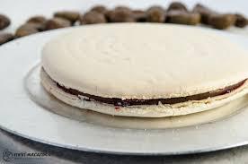 grundrezept für eine macaron torte