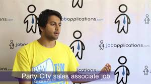 Spirit Halloween Job App by Party City Interview Sales Associate Youtube