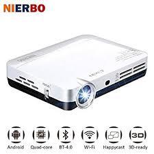 Mini 3D Projector MAX500 1080P Full HD HDMI Wifi Bluetooth Projector Video LED Pocket Projector for
