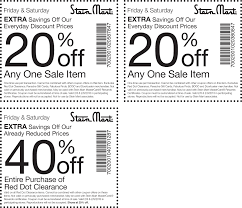 Extra 40% Off Red Dot Clearance And More At Stein Mart ... Smart Fniture Coupon Code Saltgrass Steak House Plano Tx Area 51 Store Scream Zone Coupons Stein Mart The Bargain Bombshell Coupon Codes 3 Valid Coupons Today Updated 20181227 Money Mart Promo Quick Food Ideas For Kids Barcode Nexxus Printable 2019 Bookdepository Discount Codes Promo Fonts Com Hell Creek Suspension Venus Toddler Lunch Box Daycare Discounts Code Travelex