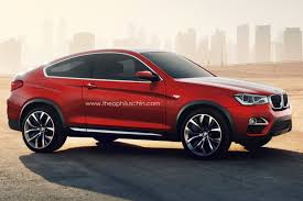 BMW X4 with two doors
