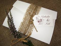 Rustic Rose Pocketfold Invitation