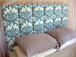 Bedroom Great King Size Tufted Headboard For King Bed Ideas by Easy Upholstered Headboard Tutorial Reality Daydream