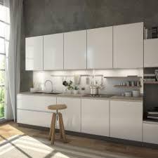 glasrückwand küche weiss mit leichtem grün schimmer ref 9010 6mm