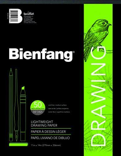 "Bienfang Giant Drawing Paper Pad - 11"" x 14"", 50 Sheets"