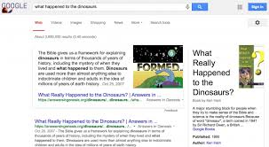 Google Is Wrong About What Happened To The Dinosaurs