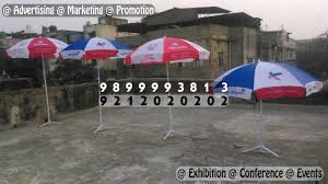 Garden Umbrella Promotional Marketing Advertising