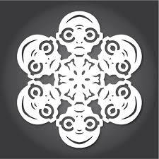 25 ide Paper snowflake designs unik di Pinterest