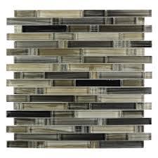 Savoy Picket Pattern Crystallized Glass Mosaic Tile SMOTGLSPK