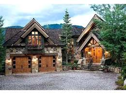Mountain Cabin Home Plans Style House 4 Lodge Chalet