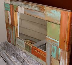 OMG I Am Loving This Mirror Made With Scrap 2x4 By Beyond The Picket Fence