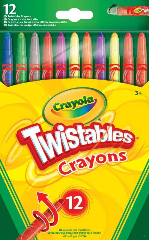 Crayola Twistable Crayons - 12pk
