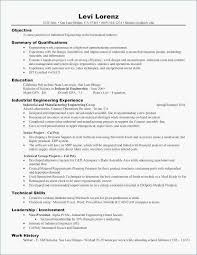 Example Of Customer Service Resume Fresh Resume Qualifications