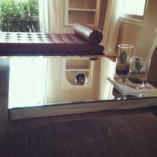 Z Gallerie Glass Dresser by Ideas Mesmerizing Mirrored Coffee Table With Glass And Wood