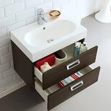 trueshopping badezimmer möbel schrank wand waschtisch suite