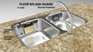 flexii splash guard stop getting splashed when doing dishes by