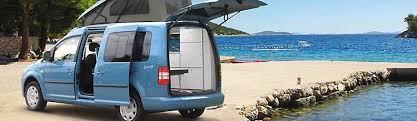 Minicampers Small Campervans VW Caddy Camper