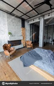 100 What Is A Loft Style Apartment Stylish Interior Studio Partment Design Stock Photo