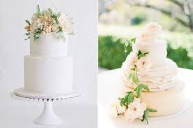 Peach Wedding Cakes Rustic By Faye Cahill Left And Image Right Lucy Leonardi