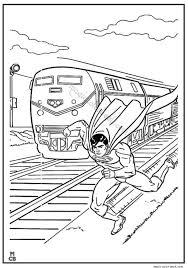 Superman Coloring Pages Printable 24