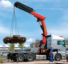 100 Truck Mounted Cranes Mounted Crane Swingarm Handling For Heavyduty