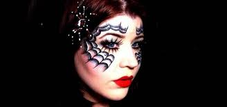Halloween Half Mask Makeup by How To Apply A