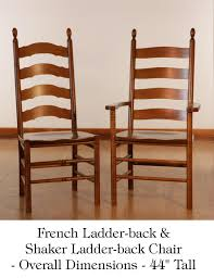 Tall Ladder Back Chairs With Rush Seats by Lexington Ladder Back Dining Chairs Bar Chair Ladder Back Chairs