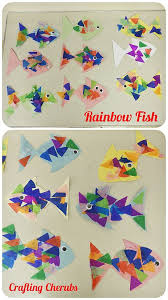 Rainbow Fish Toddler Craft Pre Schooler