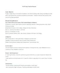 Resume Samples For Teachers With Experience In India Together Job Sample On