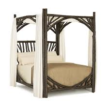 Canopy Bed Queen by Rustic Canopy Bed La Lune Collection