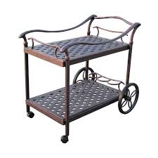 Decoration in Patio Serving Cart Outdoor Serving Carts Patio Carts