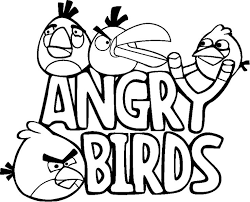 Angry Birds Coolcoloringpagesblogspot 2011 10 Coloring Pages
