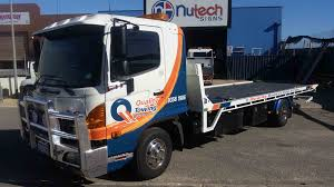 Truck Signage Perth - Custom Truck Signs Design & Wrap | Nutech Two Blank Highway Signs Overhead Trucks On Road Transport Concept Fork Lift Operating No Pedestrians Signs From Key Uk Sound Horn Calgary Car Door Magnets Truck Van Magnetic Orange County Company Logo For Trucks With A Driving Cab Manufacture Stock Health Safety De Riding On Forklift Is Forbidden Symbol Occupational Caution Sign 200 X 300mm Rigid Signage Bandit Auto Tyres Fork Lift Operating Sticker And
