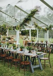 Rustic Outdoor Wedding Tent Decor Ideas