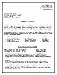 Federal Government Resume Examples Template Job