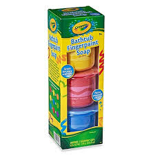 crayola bathtub 3 pack fingerpaint soap bed bath beyond