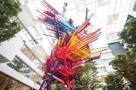 100 Arne Quinze Bureau Greisch Deloitte Stilthouse Metalen Sculptuur Van