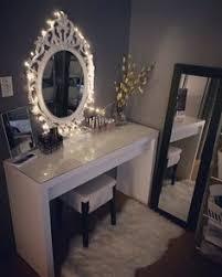 Diy Vanity Table Ikea by Beautiful Beauty Room Diy Hollywood Mirror And Ikea Malm Dressing
