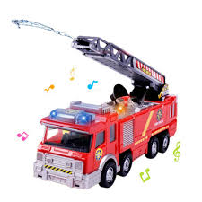 100 Fire Truck Kids KOBWA Engine Toy CarBattery Operated Electric Car